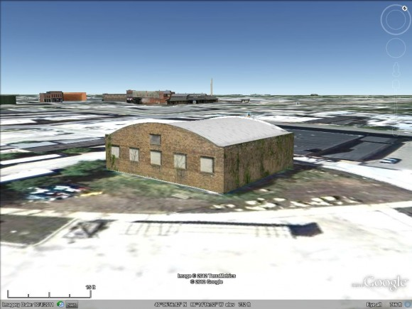 Digital model of 108 E Clark St Champaign IL