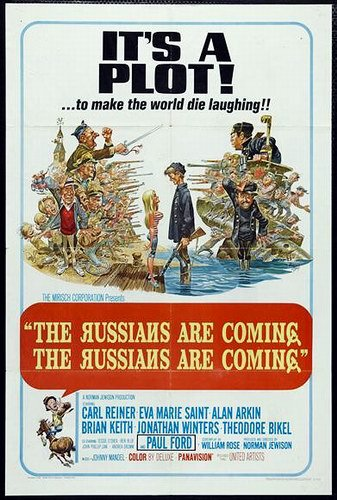 The Russians Are Coming! movie poster