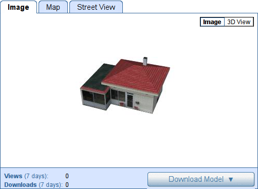 202 S Neil St, Champaign, IL, US, 3D Warehouse Screenshot