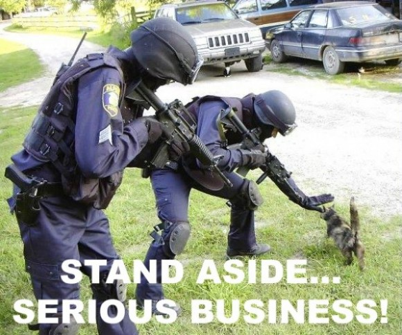 Stand aside... Serious Business!