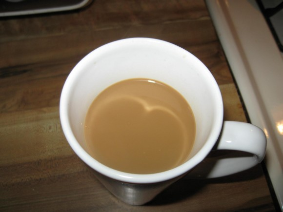 My caffè macchiato