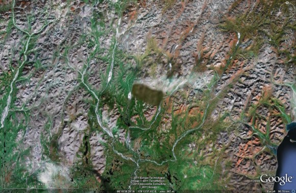 Chukotka via Google Earth 2011