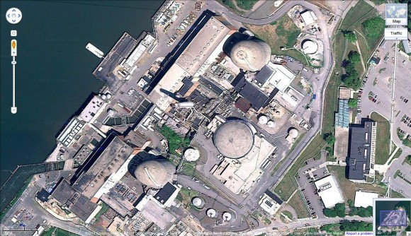 Indian Point via Google Maps