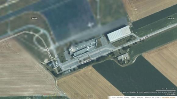 Reims Air Base via bing Maps