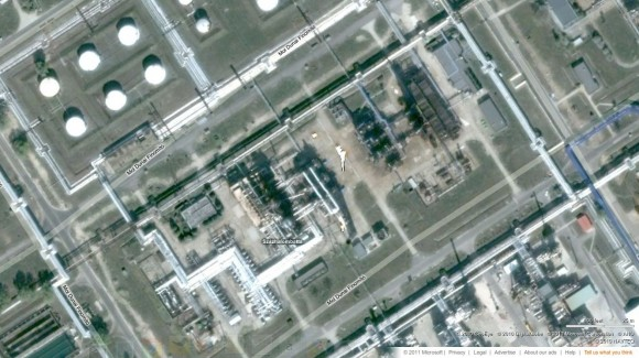Szazhalombatta Oil 2 via bing Maps
